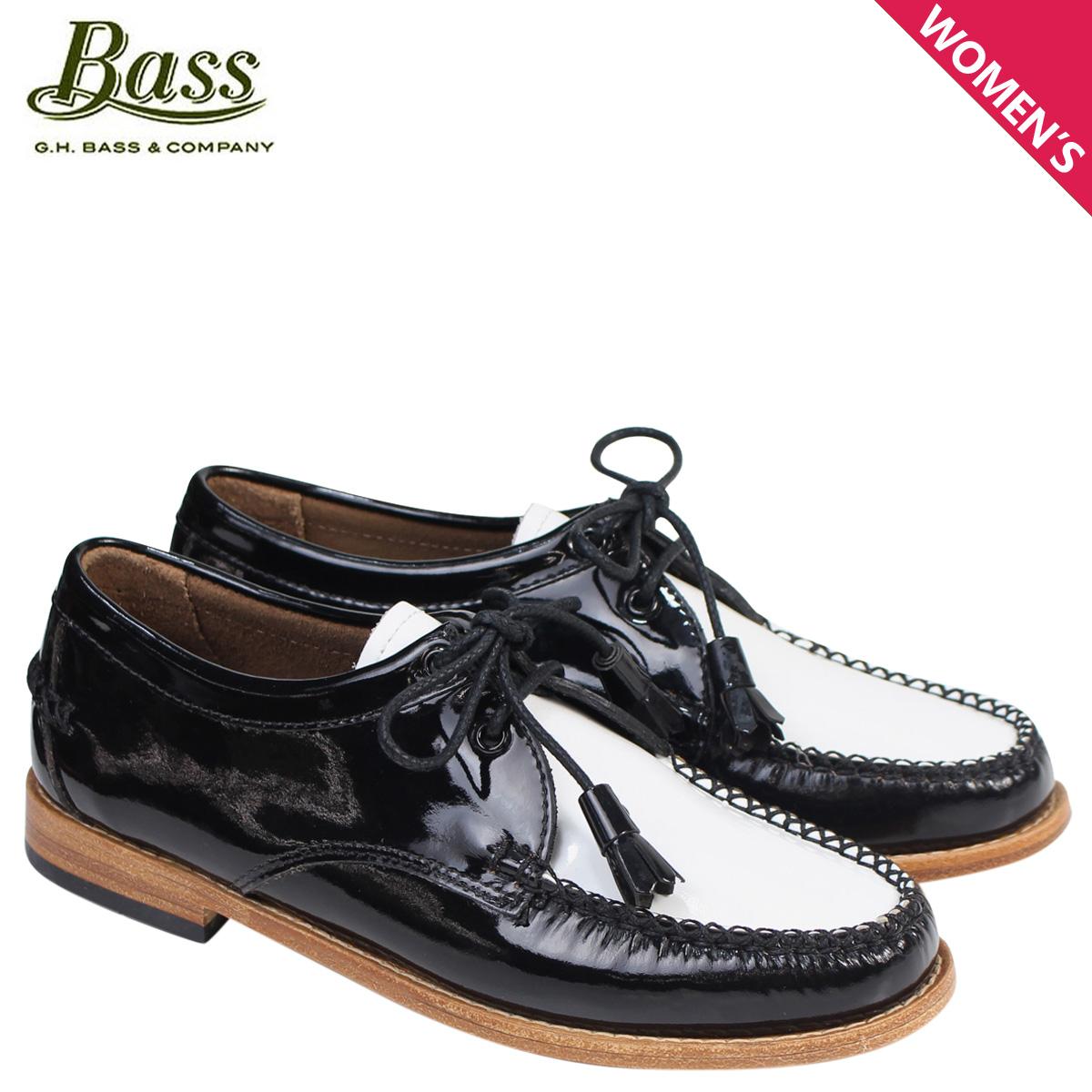 新品?正規品  G.H. BASS TIE ローファー ジーエイチバス レディース タッセル WINNIE ホワイト TIE WEEJUNS BASS 71-22465 靴 ブラック ホワイト, オーセル:f4c87746 --- konecti.dominiotemporario.com