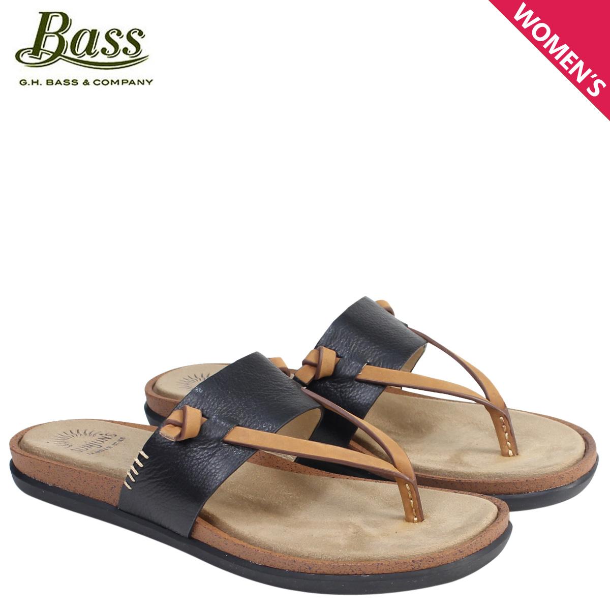 4213a0cdbec G.H. BASS sandals lady s G H bus tong sandals SHANNON THONG SUNJUNS  71-23