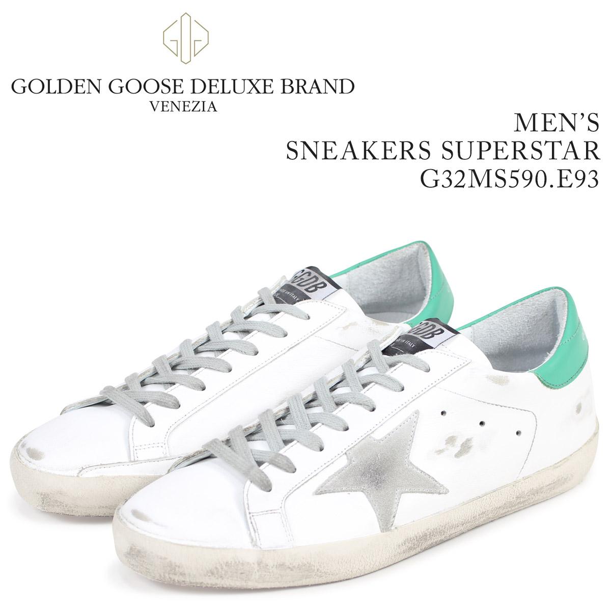 Golden Goose ゴールデングース スニーカー メンズ スーパースター SNEAKERS SUPERSTAR ホワイト G32MS590 E93