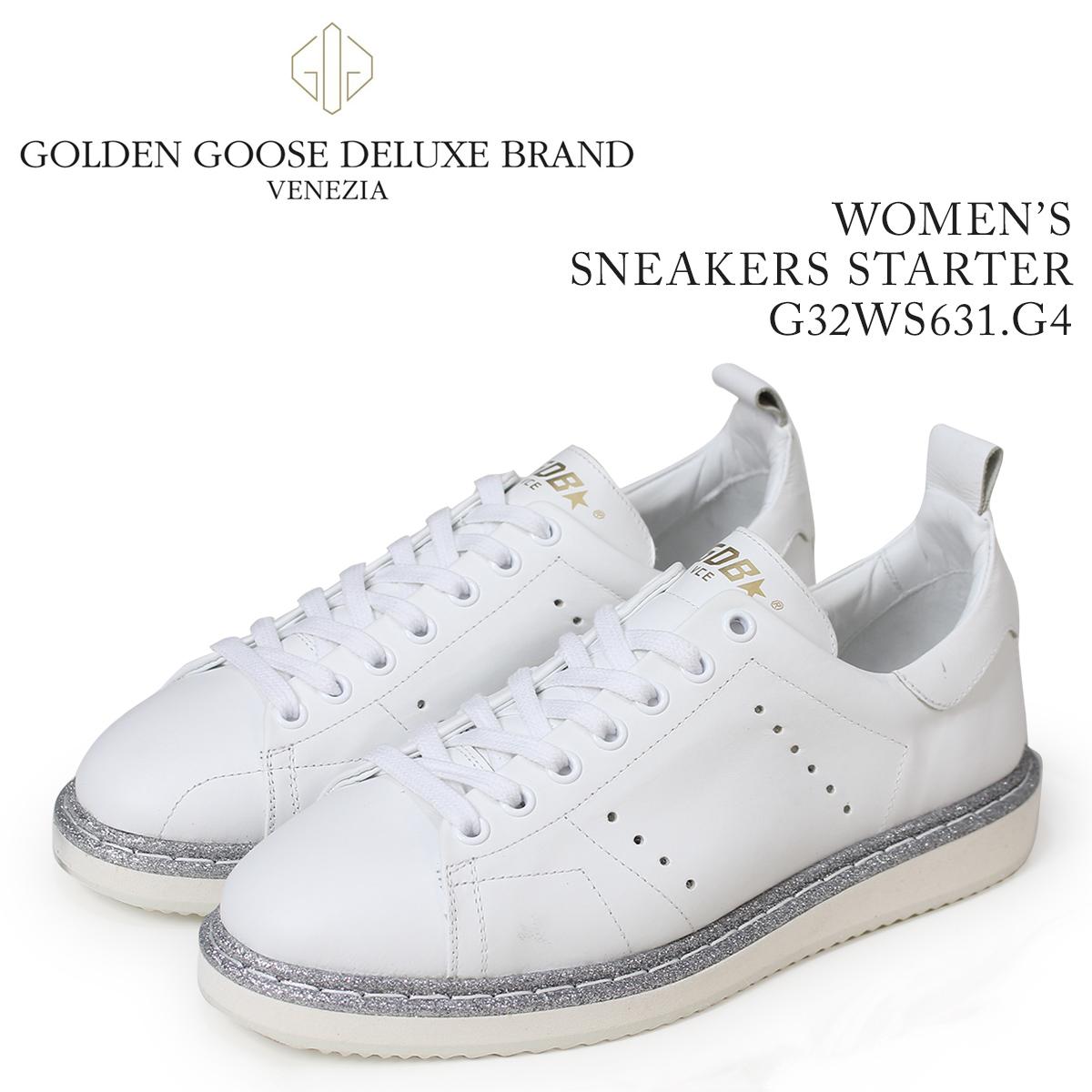 Golden Goose ゴールデングース スニーカー レディース スニーカーズ スターター SNEAKERS STARTER ホワイト 白 G32WS631 G4