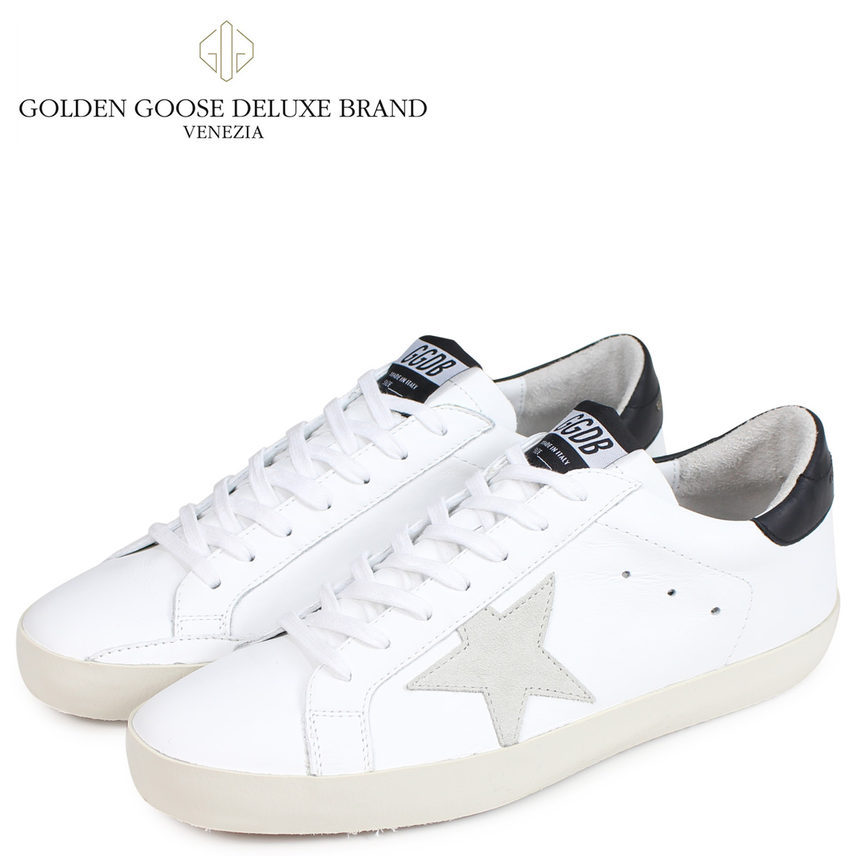 Golden Goose ゴールデングース スニーカー メンズ スーパースター SNEAKERS SUPERSTAR ホワイト 白 G33MS590 E73