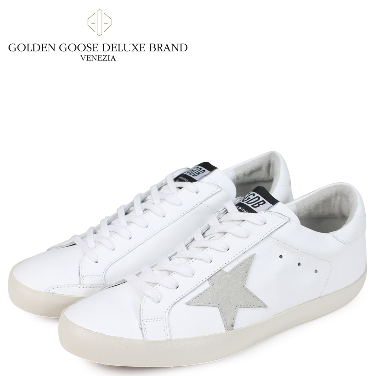 Golden Goose ゴールデングース スニーカー メンズ スーパースター SNEAKERS SUPERSTAR ホワイト 白 G33MS590 G68