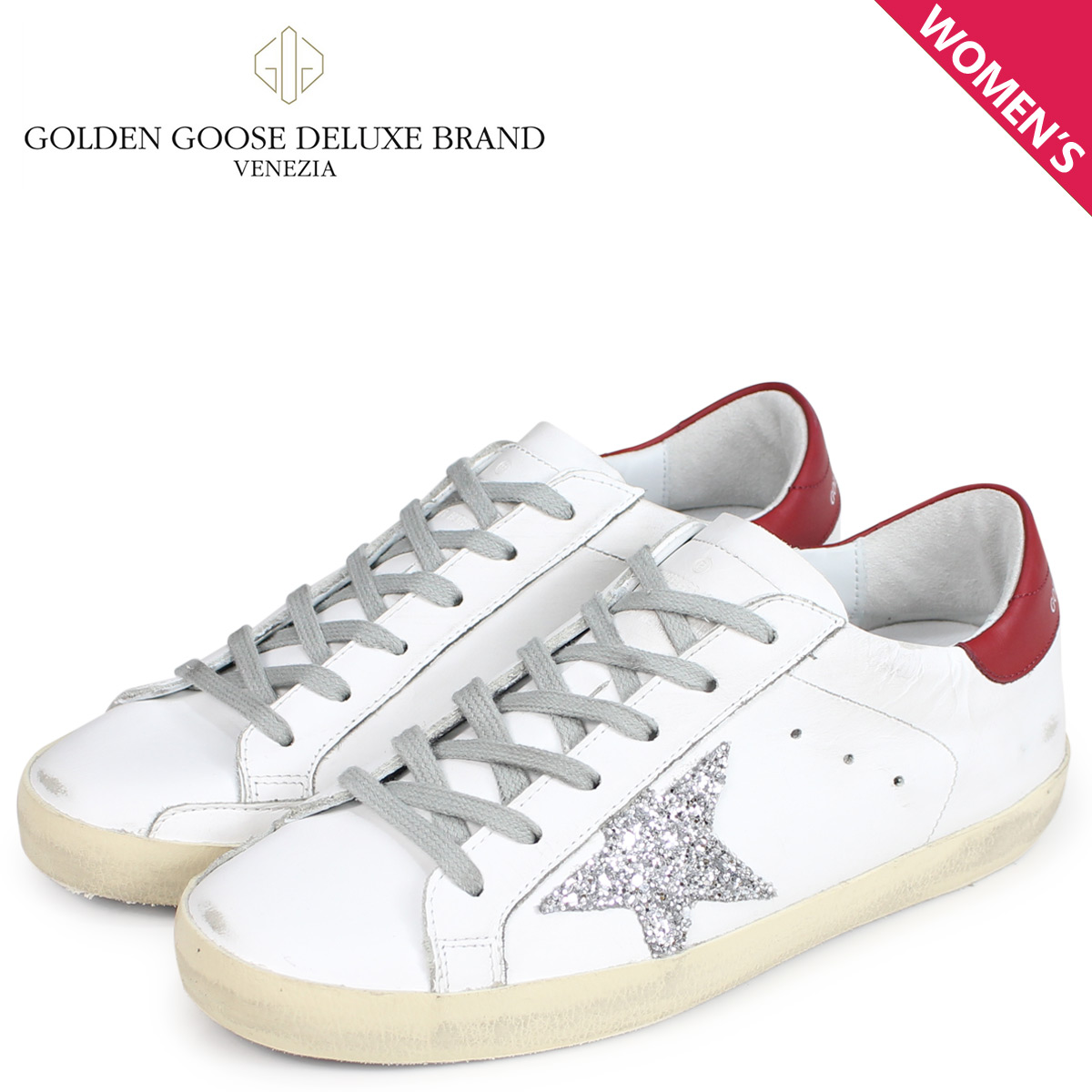 Golden Goose ゴールデングース スニーカー レディース スーパースター SNEAKERS SUPERSTAR ホワイト 白 G33WS590 H16