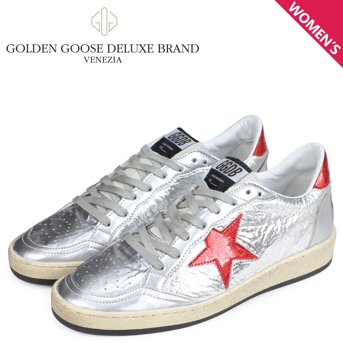 Golden Goose ゴールデングース スニーカー レディース ボールスター BALL STAR シルバー G33WS592 H2