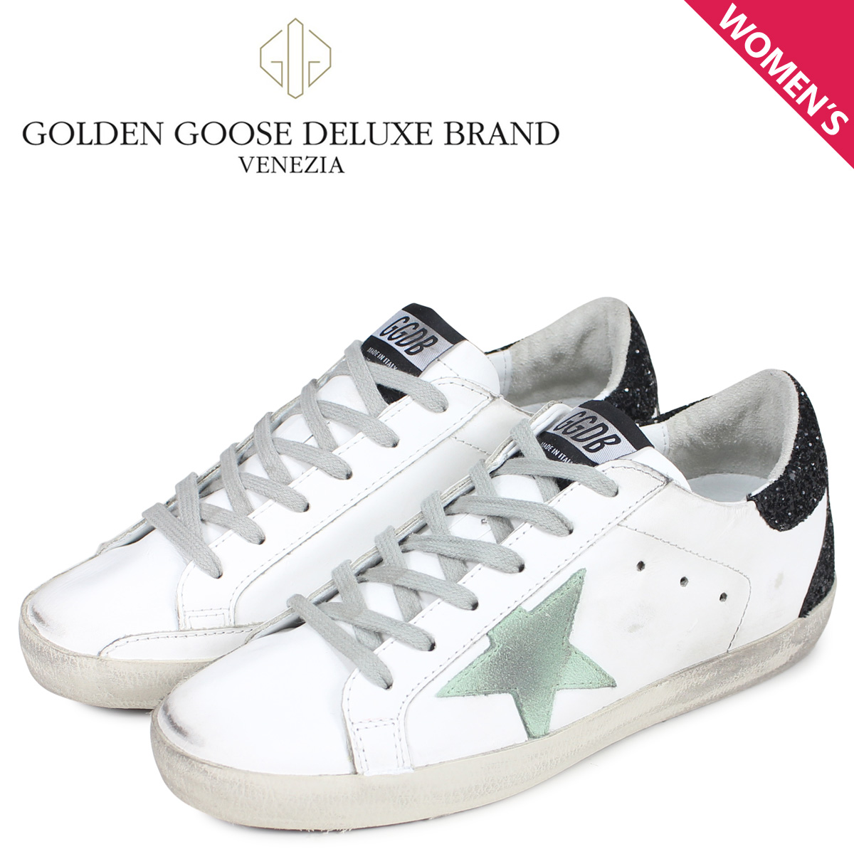 Golden Goose ゴールデングース スニーカー スーパースター レディース SNEAKERS SUPERSTAR ホワイト 白 G34WS590 M70 [3/4 新入荷]