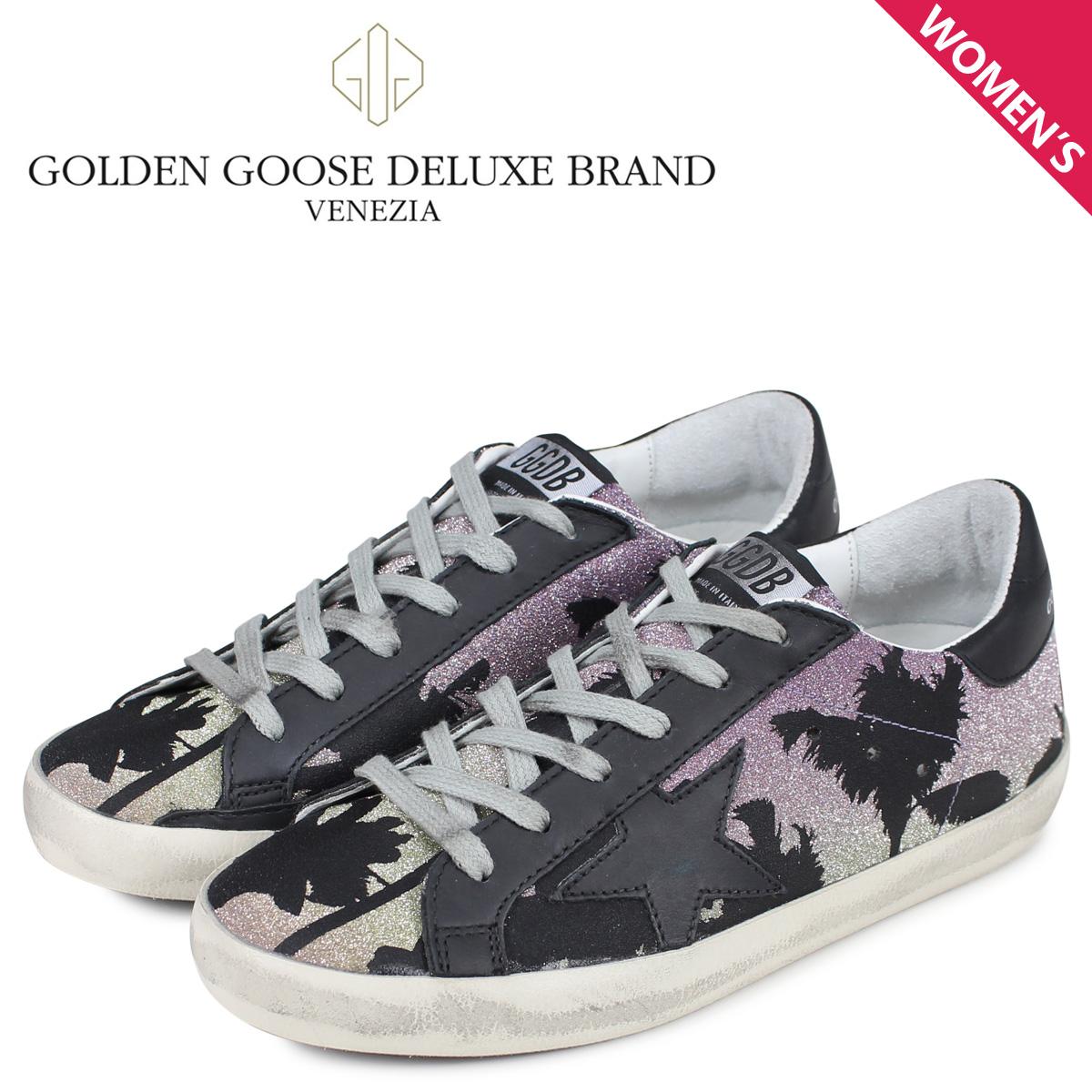 Golden Goose ゴールデングース スニーカー スーパースター レディース SNEAKERS SUPERSTAR ブラック 黒 G34WS590 M81