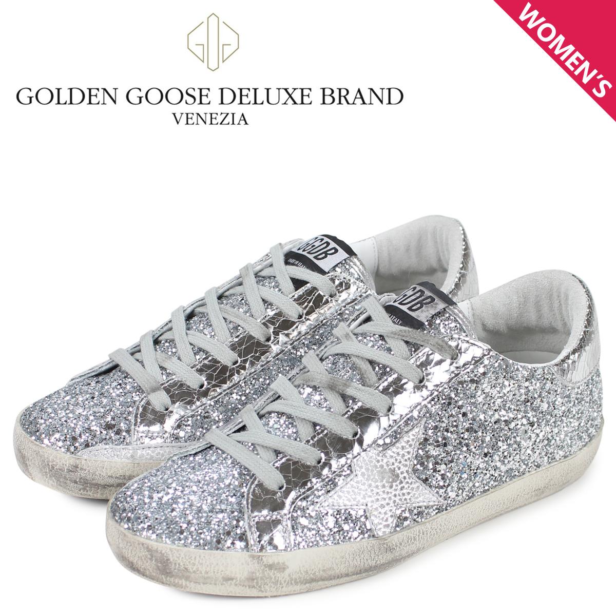 Golden Goose ゴールデングース スニーカー スーパースター レディース SNEAKERS SUPERSTAR シルバー G34WS590 M89 [3/4 新入荷]