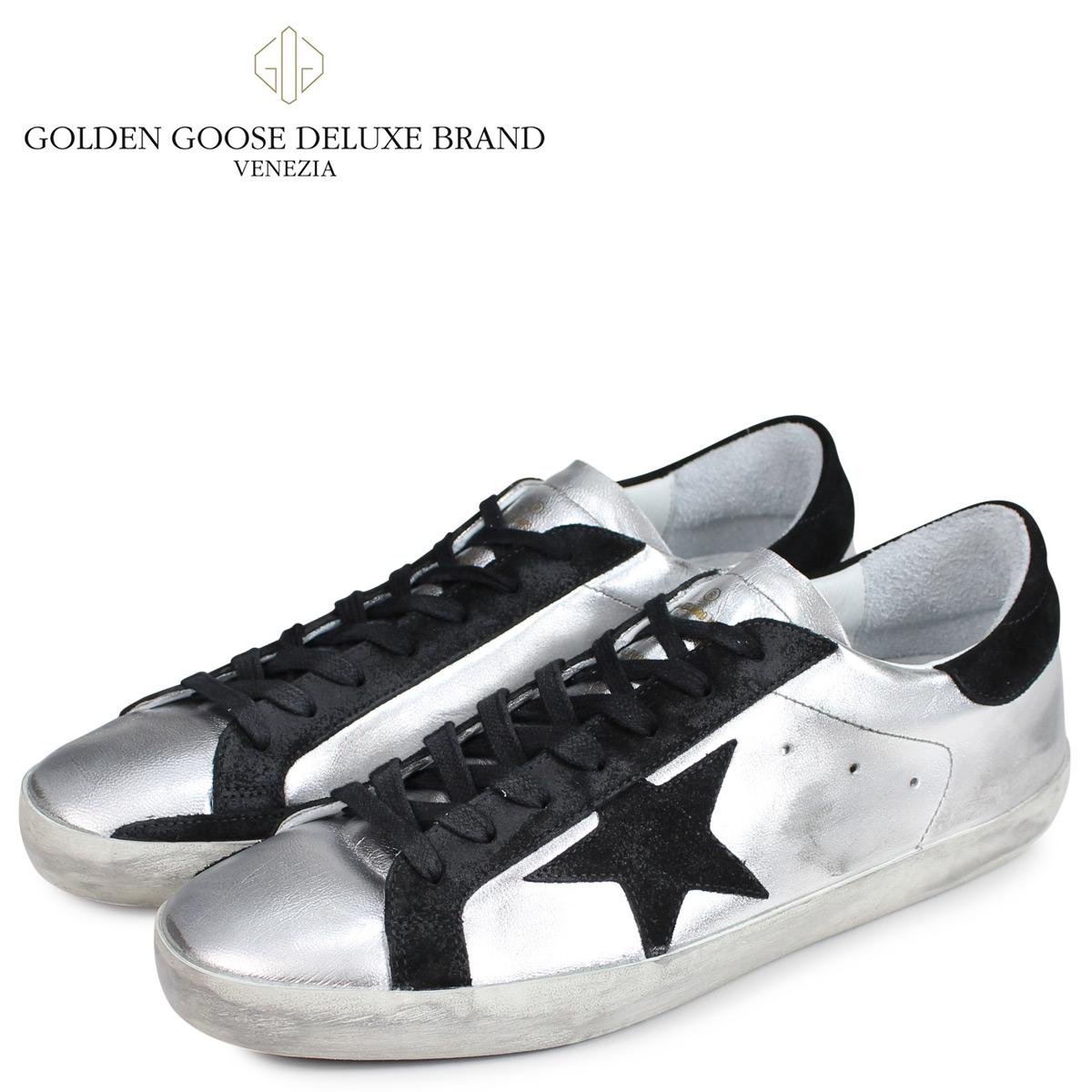 【10%OFF】 Golden Goose ゴールデングース スニーカー メンズ スーパースター SNEAKERS SUPERSTAR シルバー GCOMS590 A8
