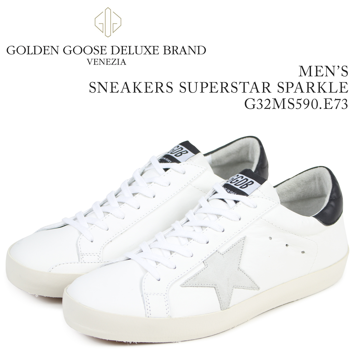 cd70ab5d2c7 Golden Goose golden goose sneakers men superstar SNEAKERS SUPERSTAR SPARKLE  white G32MS590 E73  load planned Shinnyu load in reservation product 3 15  ...