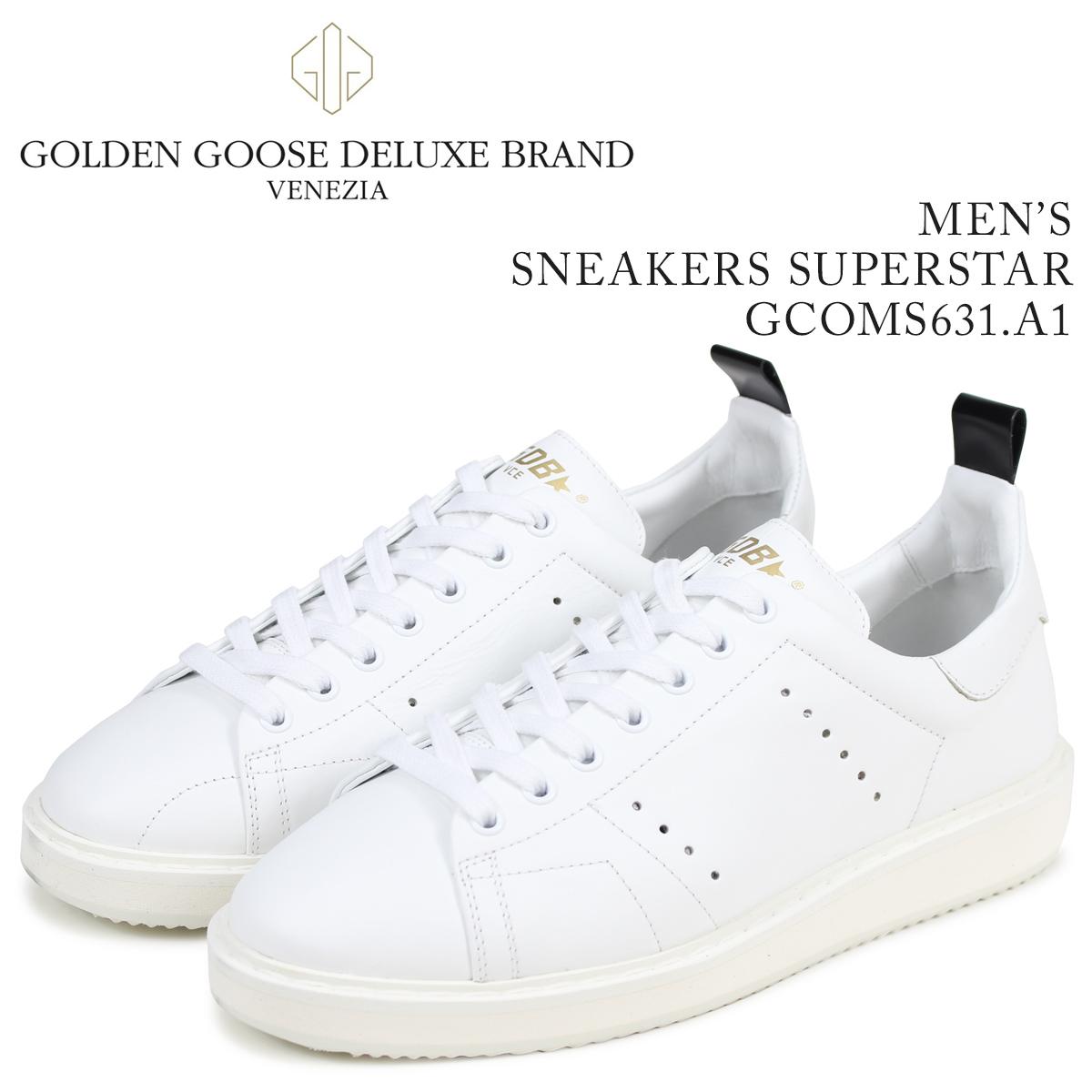 Golden Goose ゴールデングース スニーカー メンズ スターター STARTER ホワイト 白 GCOMS631 A1