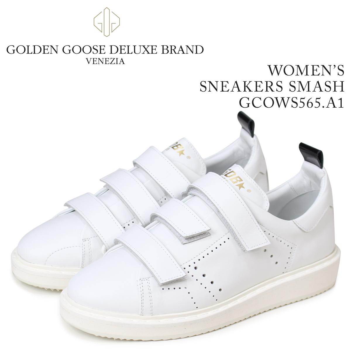 Golden Goose ゴールデングース スニーカー レディース スニーカーズ スマッシュ SNEAKERS SMASH ホワイト GCOWS565 A1