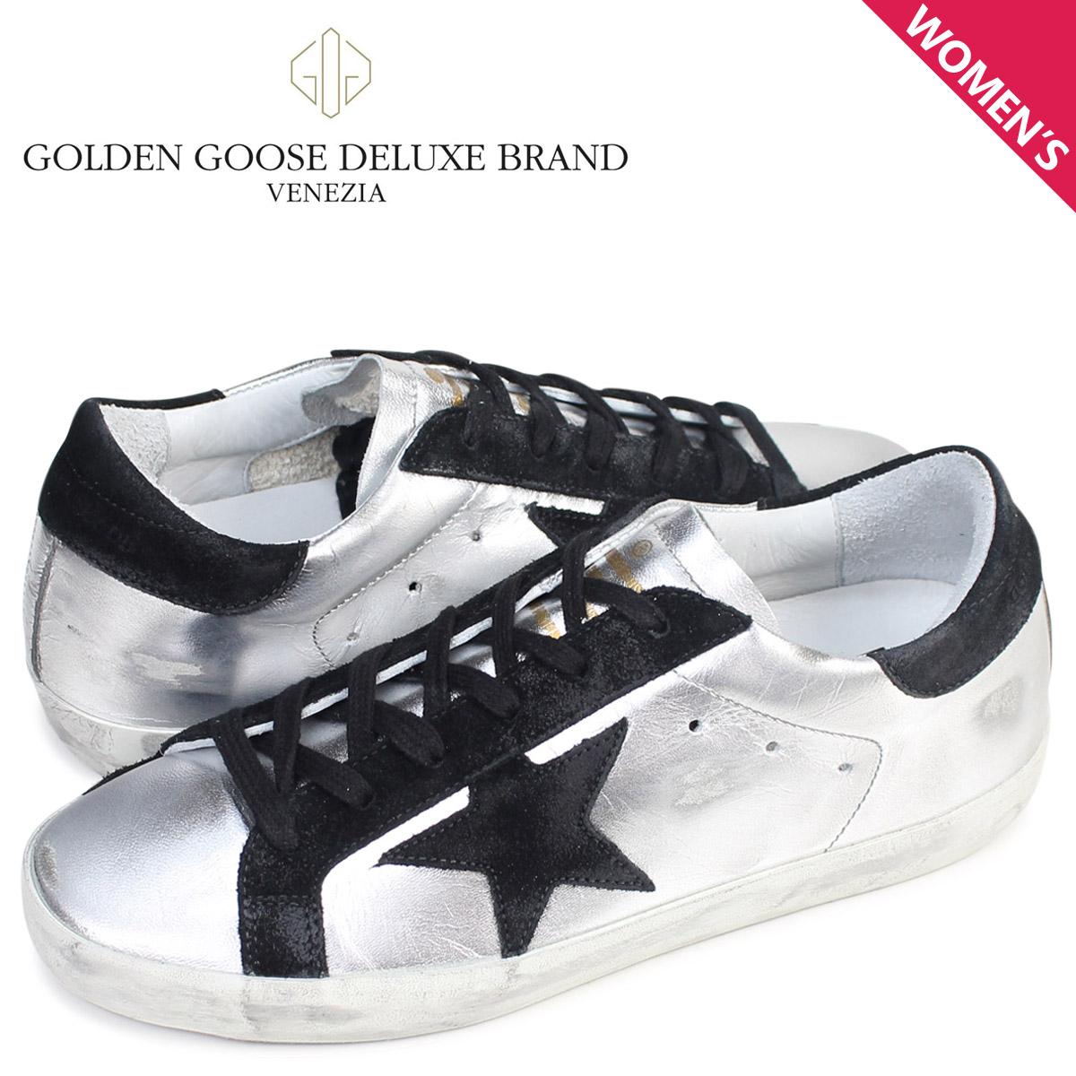 Golden Goose ゴールデングース スニーカー レディース スーパースター SNEAKERS SUPERSTAR イタリア製 GCOWS590 A8 靴 シルバー