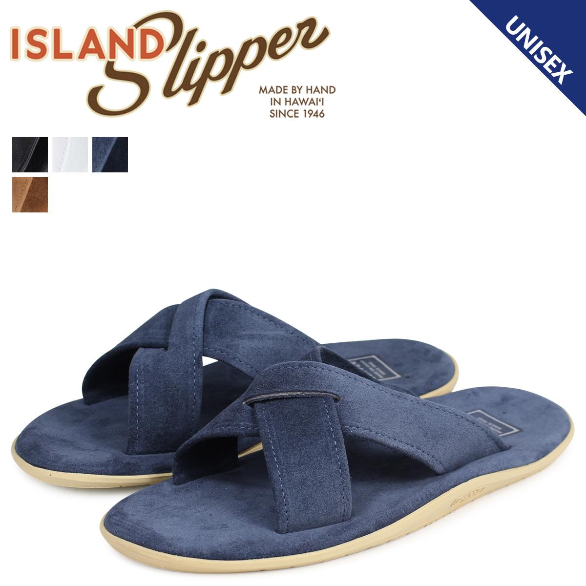 ISLAND SLIPPER アイランドスリッパ サンダル メンズ レディース レザー スエード SLIDE PB223 PT223 [4/5 追加入荷]