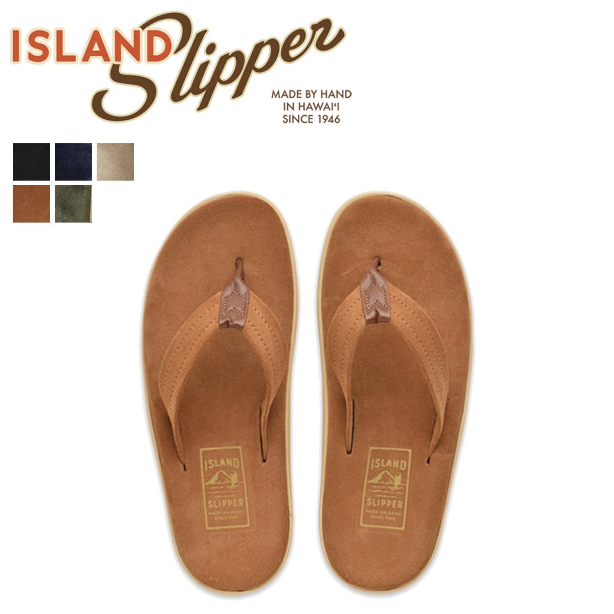 ISLAND SLIPPER アイランドスリッパ サンダル トングサンダル メンズ スエード ULTIMATE SUEDE PT203SL [4/5 追加入荷]