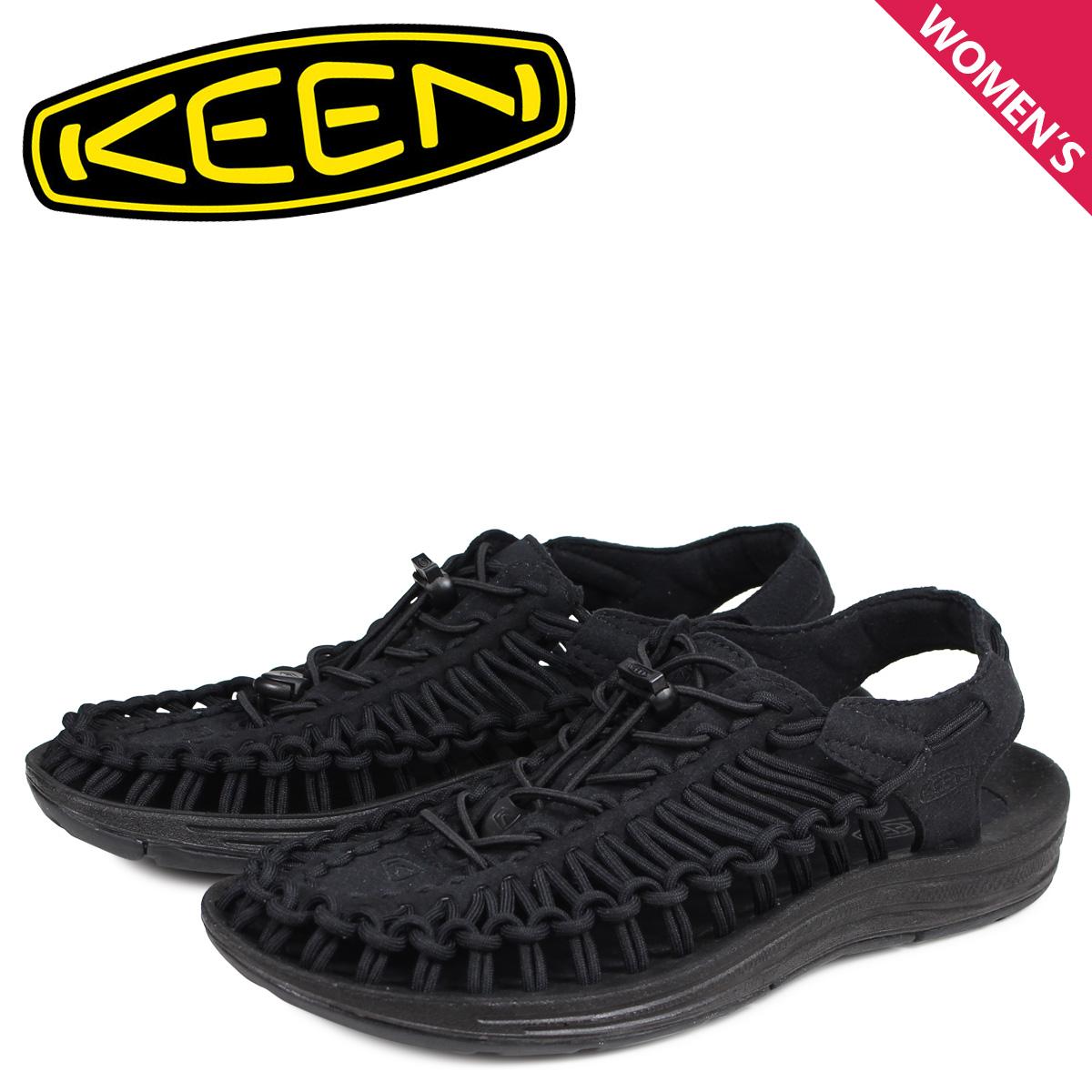 KEEN キーン ユニーク サンダル スポーツサンダル レディース UNEEK ブラック 黒 1014099