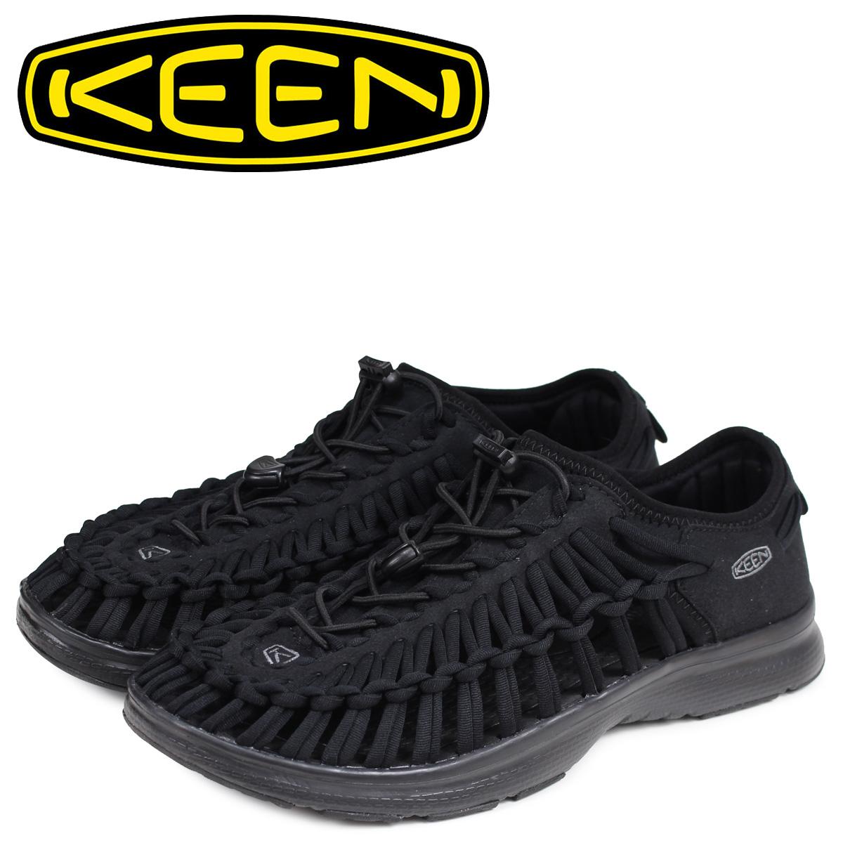KEEN キーン ユニーク サンダル スポーツサンダル メンズ UNEEK O2 ブラック 黒 1018709