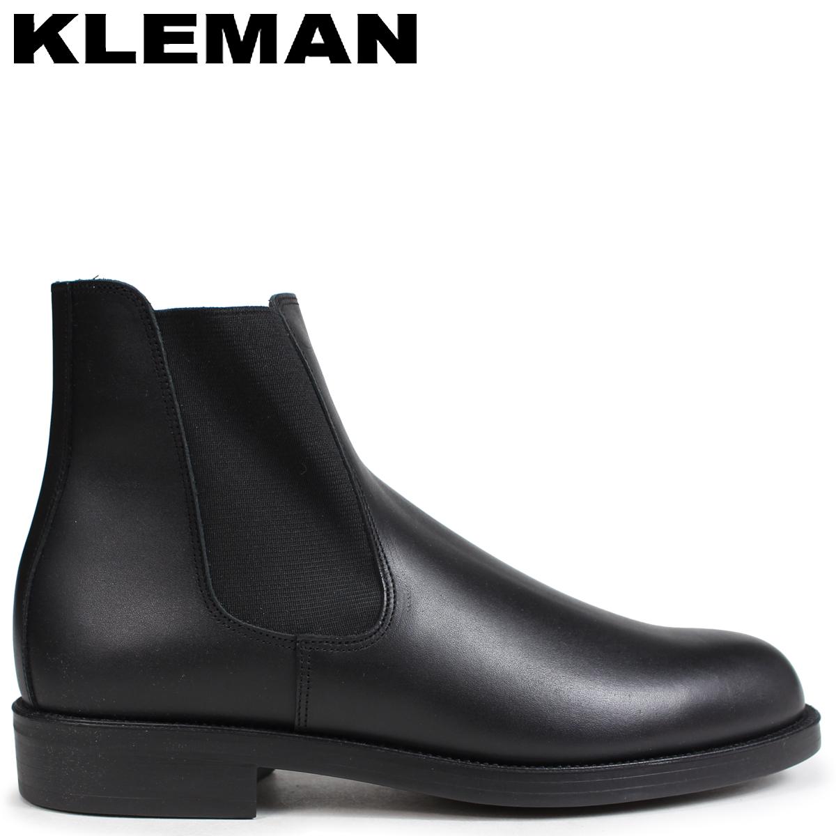 クレマン KLEMAN BAULANI 靴 サイドゴア ブーツ メンズ SIDE GORE BOOTS ブラック VA71102 [4/3 再入荷]