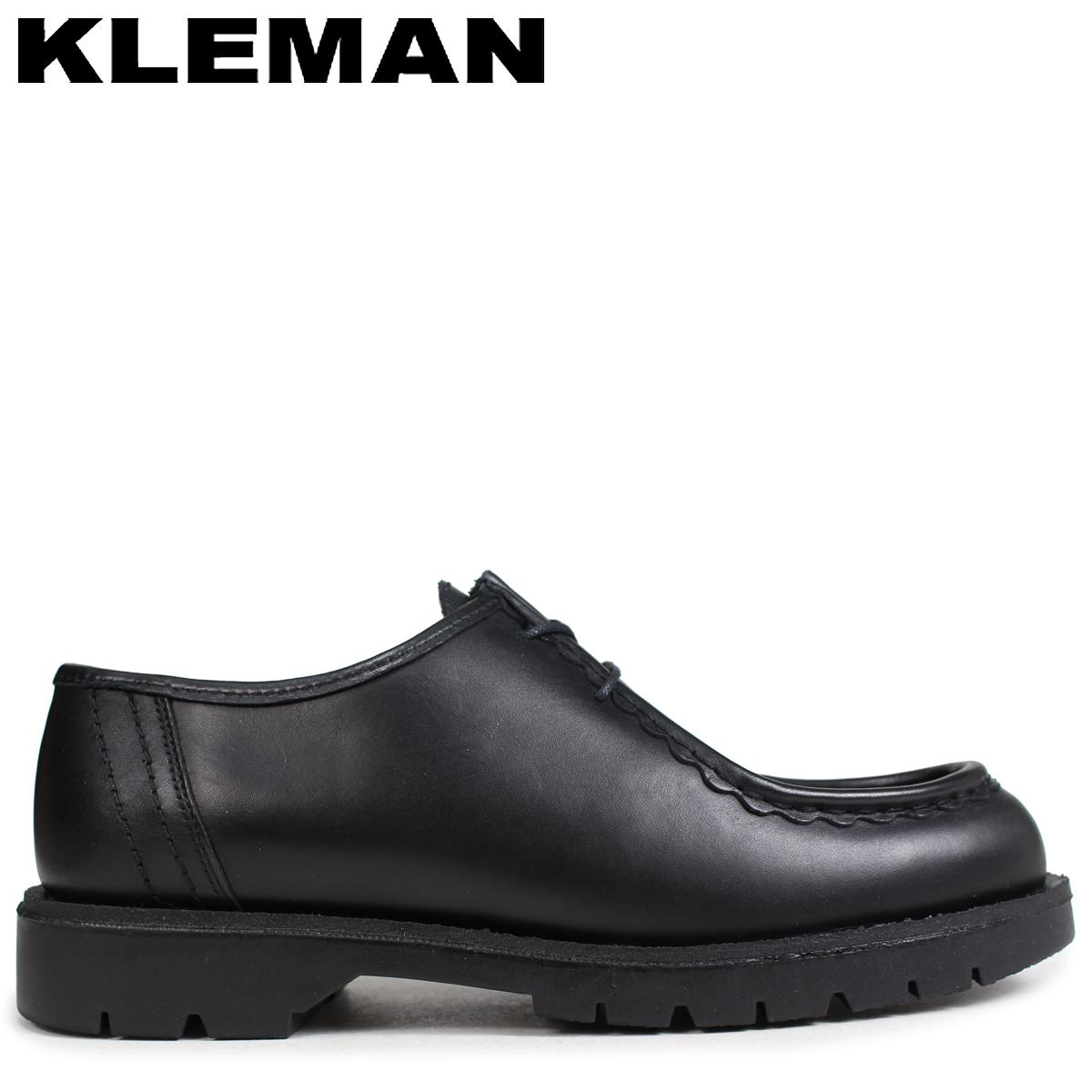 クレマン KLEMAN PADROR 靴 チロリアン シューズ メンズ TYROLEAN SHOES ブラック VA72102 [4/3 再入荷]