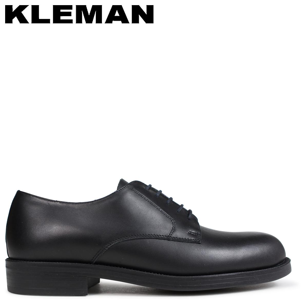 クレマン KLEMAN PASTANI 靴 プレーントゥ シューズ メンズ PLAIN TOE SHOES ブラック VA73102 [4/3 再入荷]