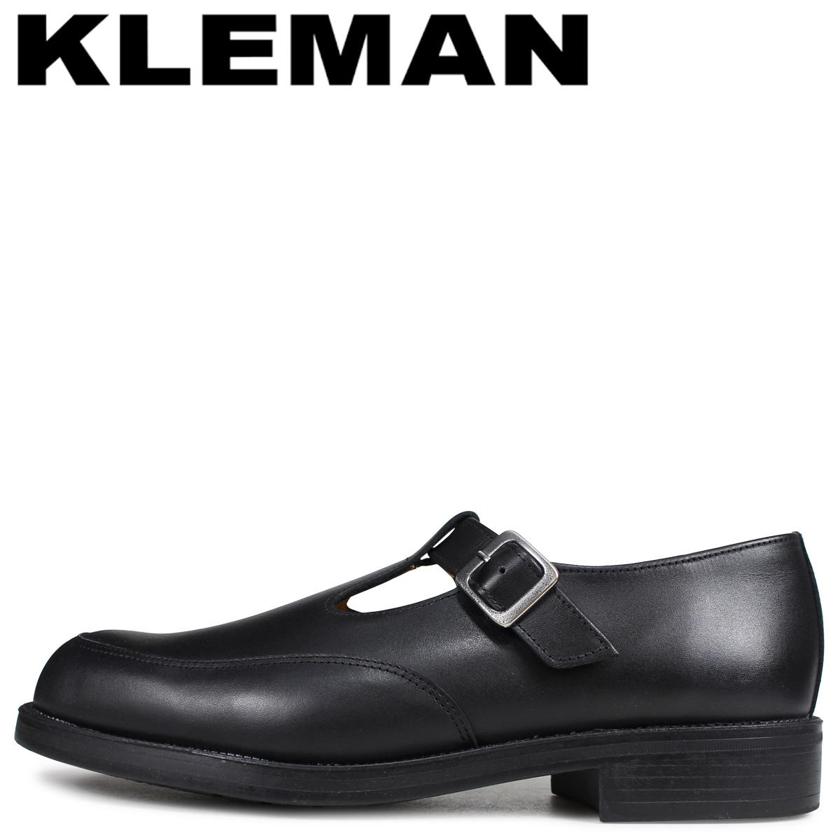 クレマン KLEMAN デイジー 靴 Tストラップ シューズ メンズ DAISY OR ブラック 黒 XA54102