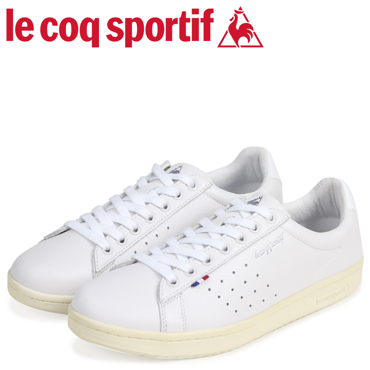 le coq sportif ルコック スポルティフ メンズ スニーカー LA ローラン LE+ ROLAND ホワイト QL1LJC15WH