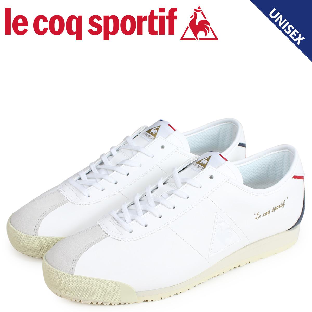 le coq sportif ルコック スポルティフ スニーカー モンペリエ OG メンズ レディース MONTPELLIER ホワイト QL1NJC01WH [予約商品 4/10頃入荷予定 追加入荷]