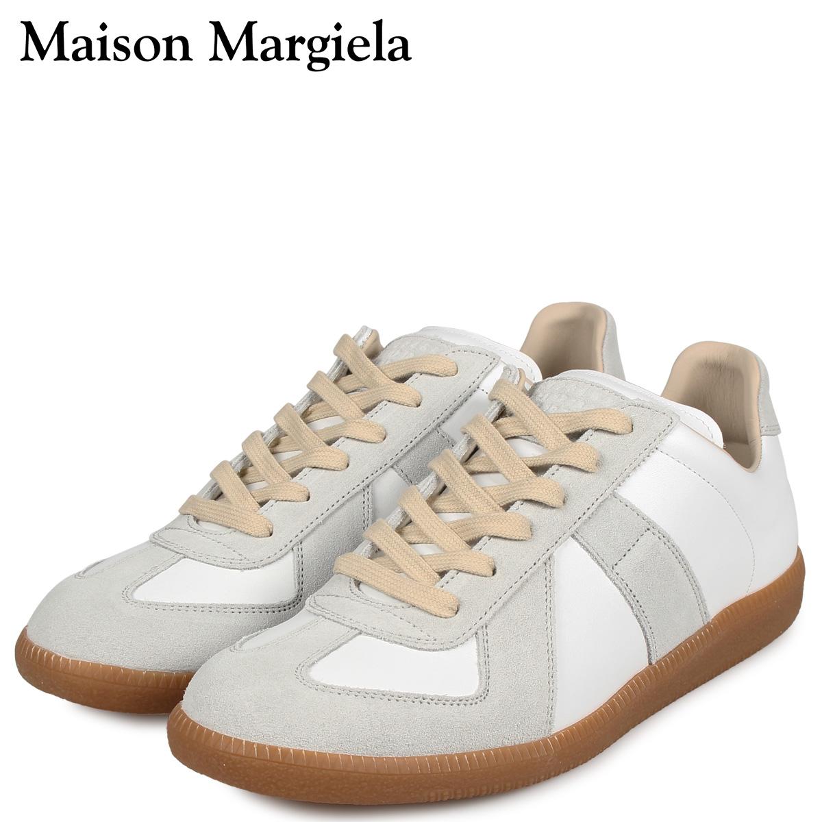 MAISON MARGIELA メゾンマルジェラ レプリカ ロートップ スニーカー メンズ REPLICA LOW TOP オフ ホワイト S57WS0236-P1895 [3/3 再入荷]