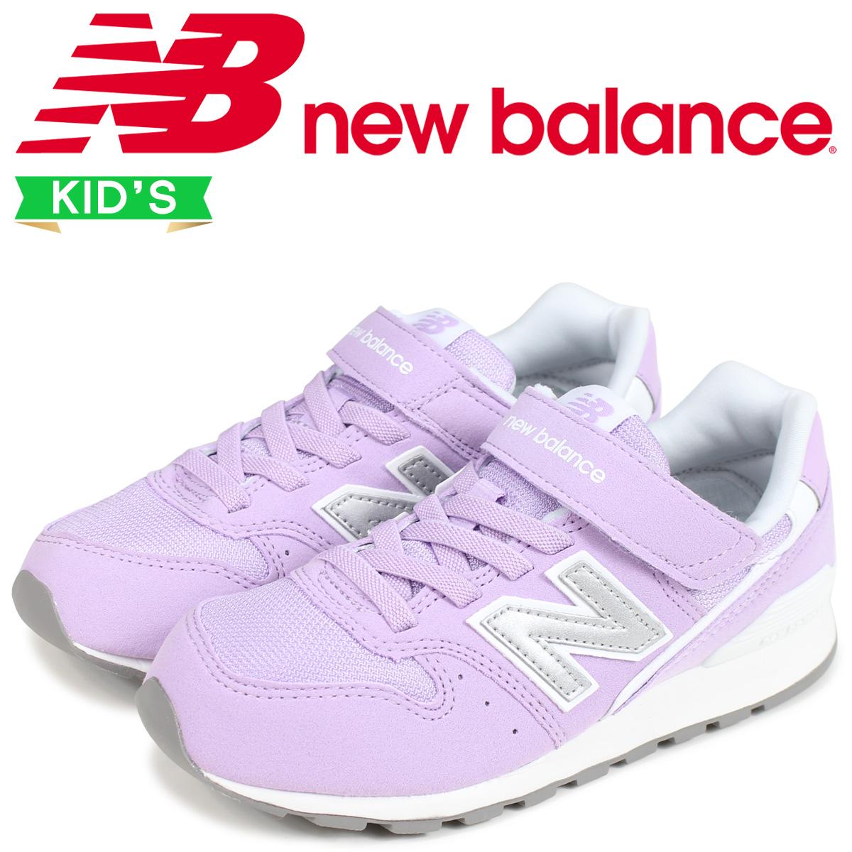 sports shoes 8b6f2 4010b new balance 996 kids New Balance sneakers KV996BRY D Wise purple