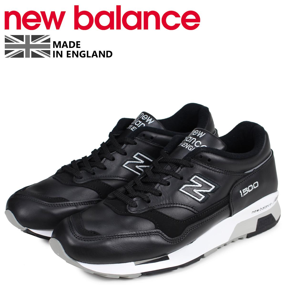 new balance ニューバランス 1500 スニーカー メンズ Dワイズ MADE IN UK ブラック 黒 M1500BK [予約商品 4/10頃入荷予定 新入荷]
