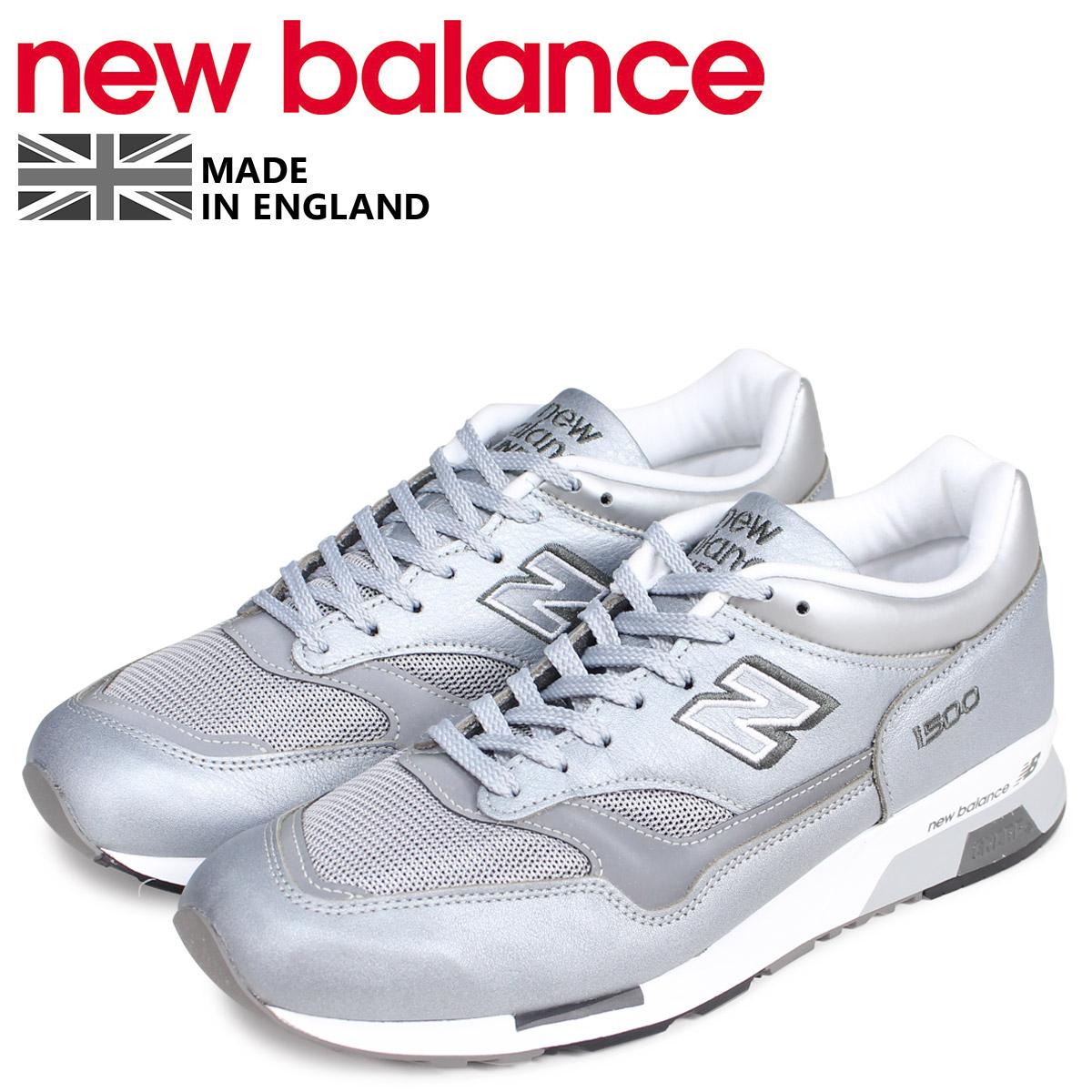 new balance ニューバランス 1500 スニーカー メンズ Dワイズ MADE IN UK シルバー M1500JBS