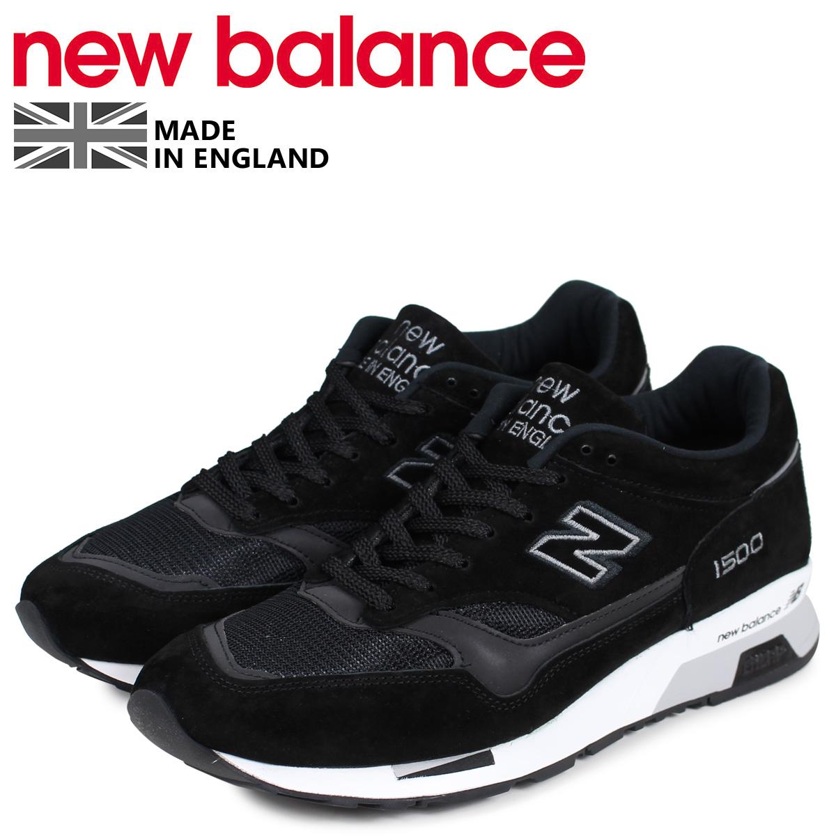 new balance ニューバランス 1500 スニーカー メンズ Dワイズ MADE IN UK ブラック 黒 M1500JKK [予約商品 4/10頃入荷予定 新入荷]