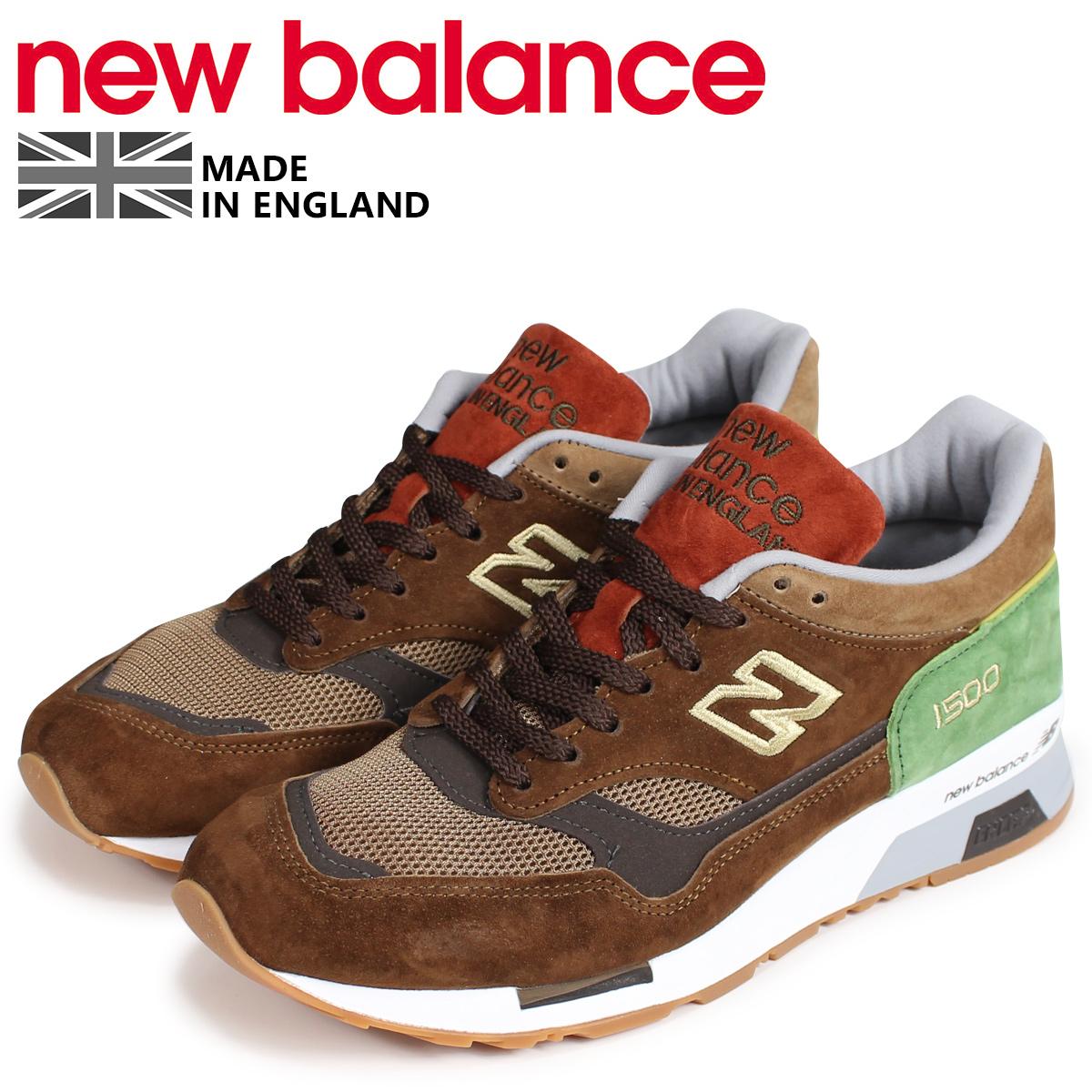 new balance 1500 メンズ ニューバランス スニーカー M1500LN Dワイズ MADE IN UK ブラウン