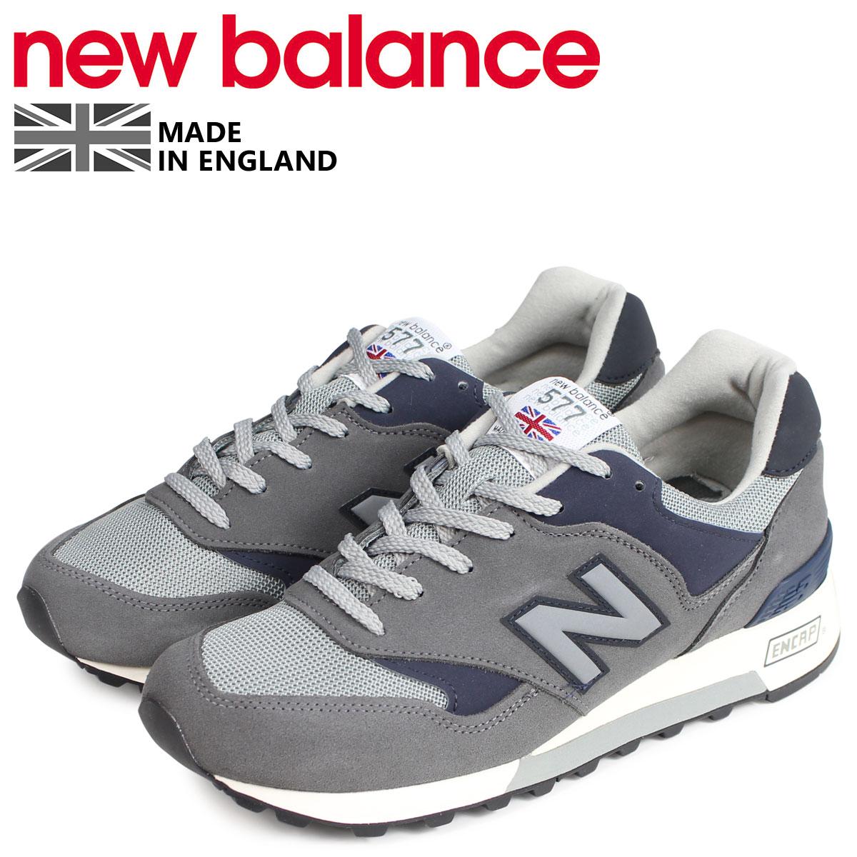 new balance ニューバランス 577 スニーカー メンズ Dワイズ MADE IN UK グレー M577GNA