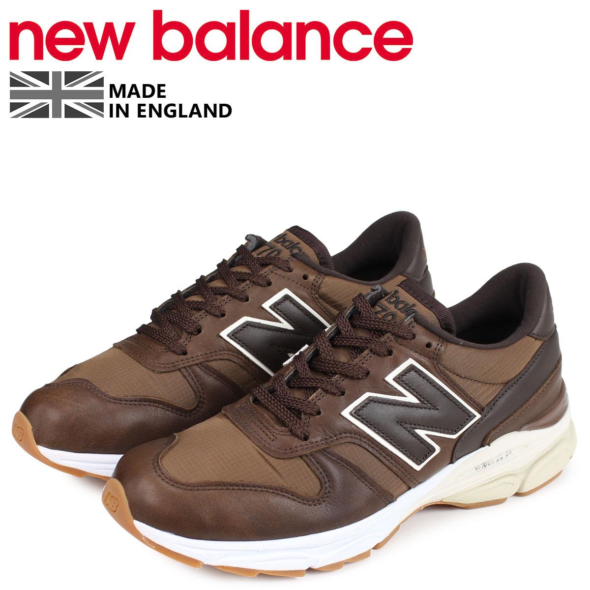 new balance ニューバランス M7709 スニーカー メンズ Dワイズ MADE IN UK ブラウン M7709LP