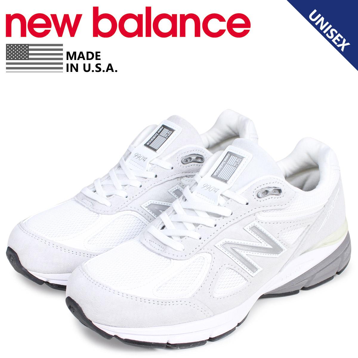 new balance ニューバランス 990 スニーカー メンズ レディース Dワイズ MADE IN USA ホワイト 白 M990JUA4 [3/11 新入荷]