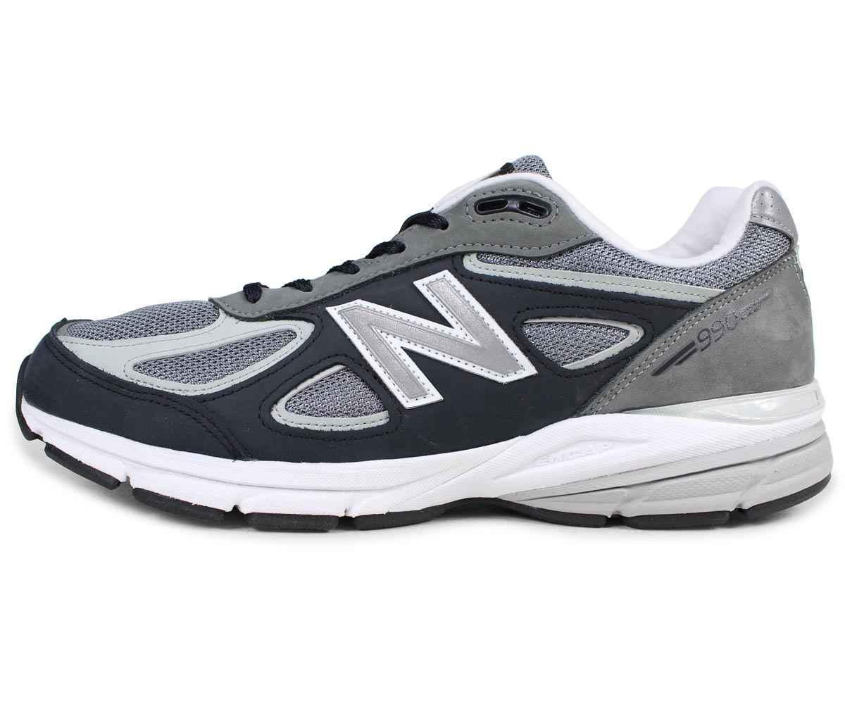 sale retailer 142d1 dd3dd new balance 990 men's New Balance sneakers M990XG4 D Wise MADE IN USA gray