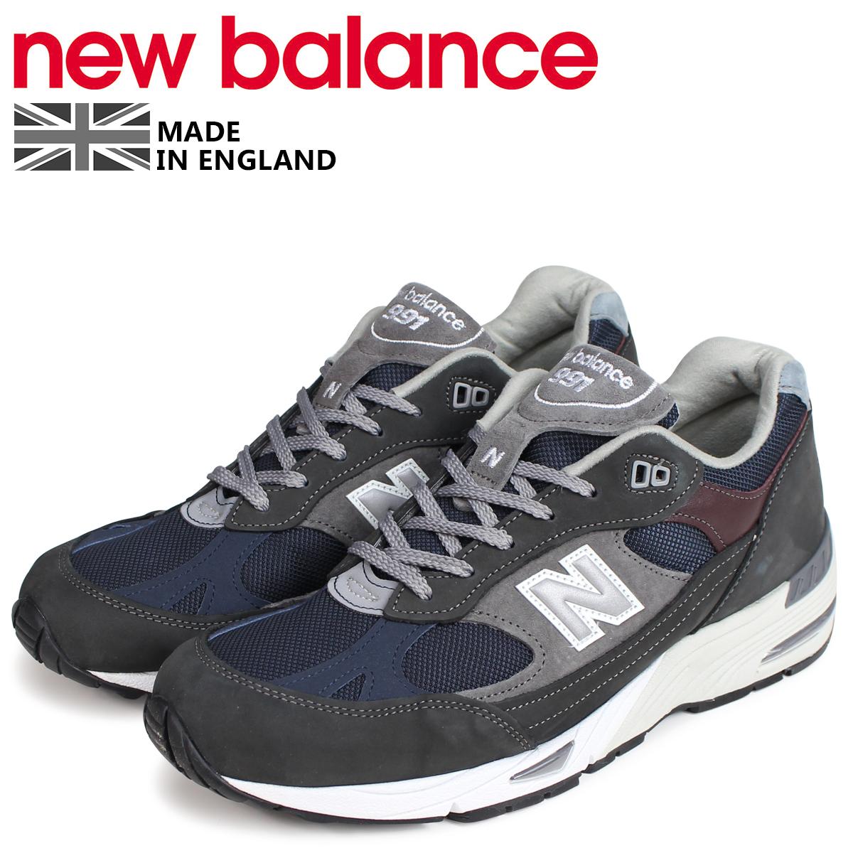 new balance 991 メンズ ニューバランス スニーカー M991GNN MADE IN UK Dワイズ グレー [3/11 追加入荷]