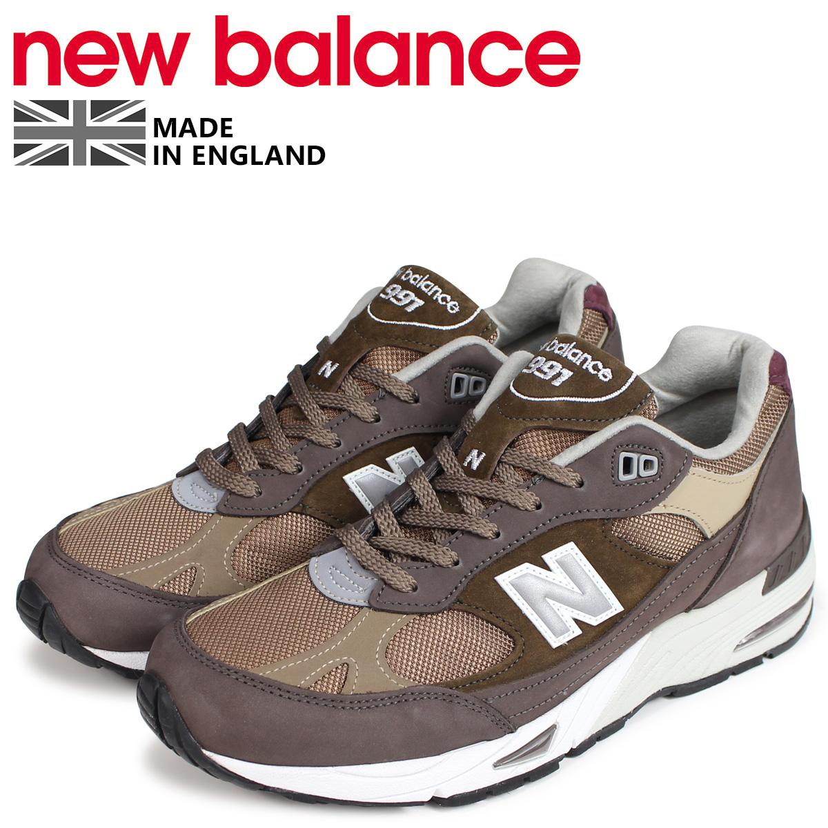 new balance 991 メンズ ニューバランス スニーカー M991NGG Dワイズ MADE IN UK ブラウン [9/15 新入荷]