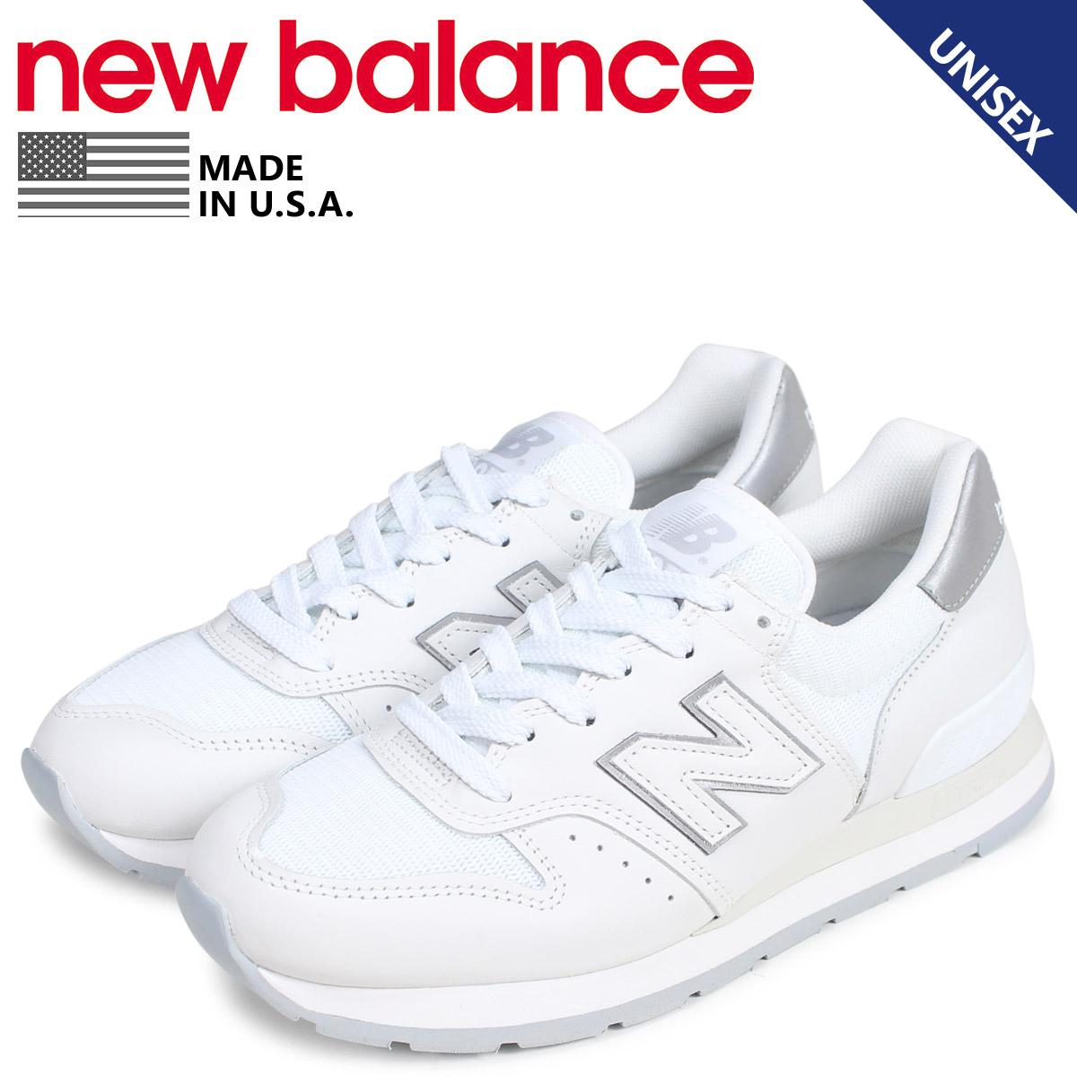 new balance ニューバランス 995 スニーカー メンズ レディース Dワイズ MADE IN USA ホワイト 白 M995CO [3/11 新入荷]