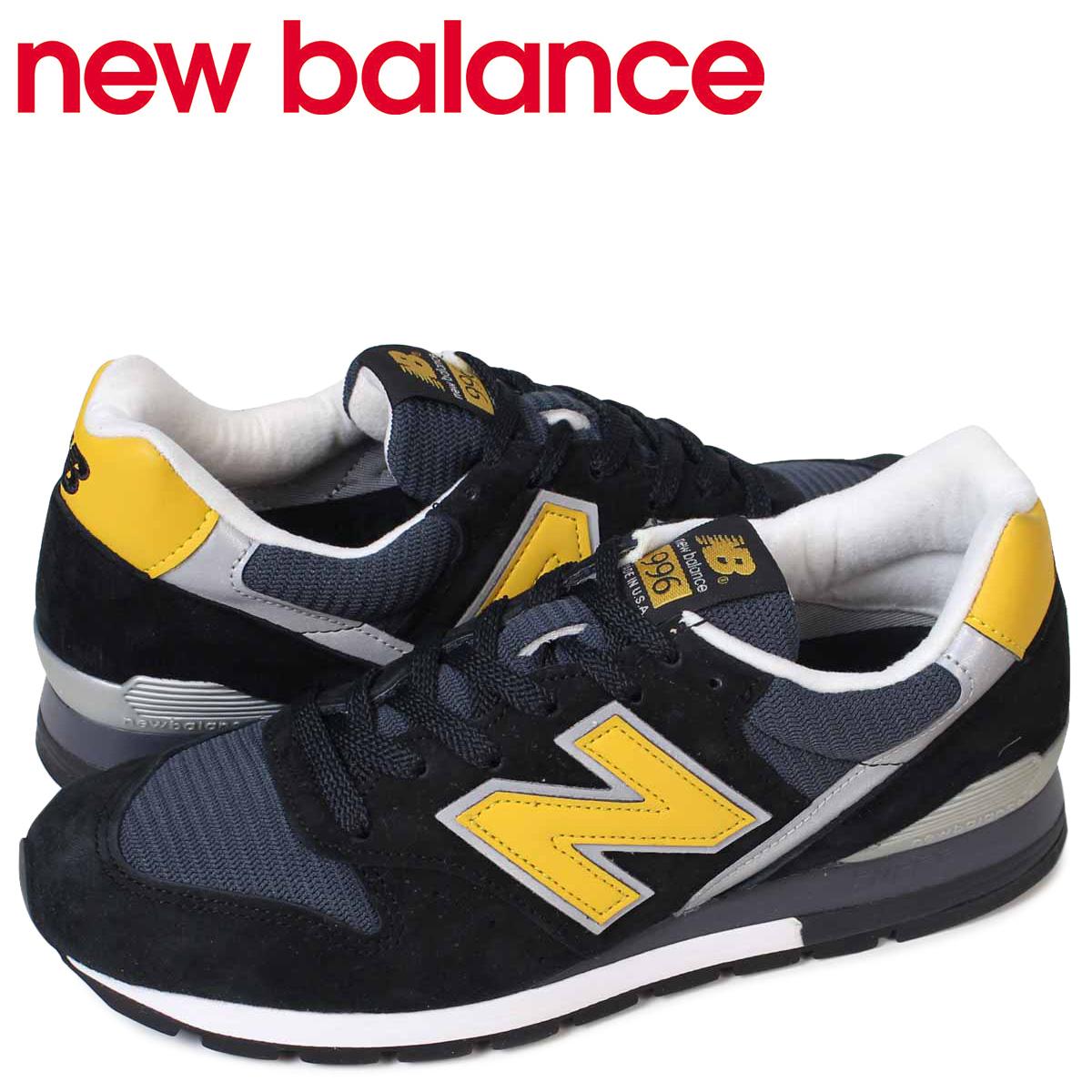 new balance 996 メンズ ニューバランス スニーカー M996CSMI Dワイズ MADE IN USA 靴 ブラック 黒