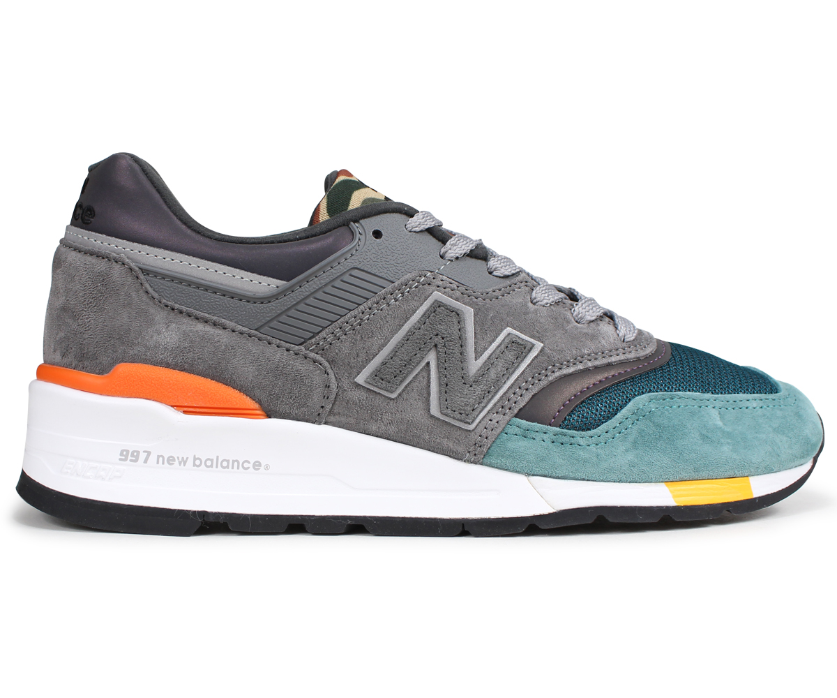 premium selection d9b6f 29c76 new balance 997 men's New Balance sneakers M997NM D Wise MADE IN USA gray