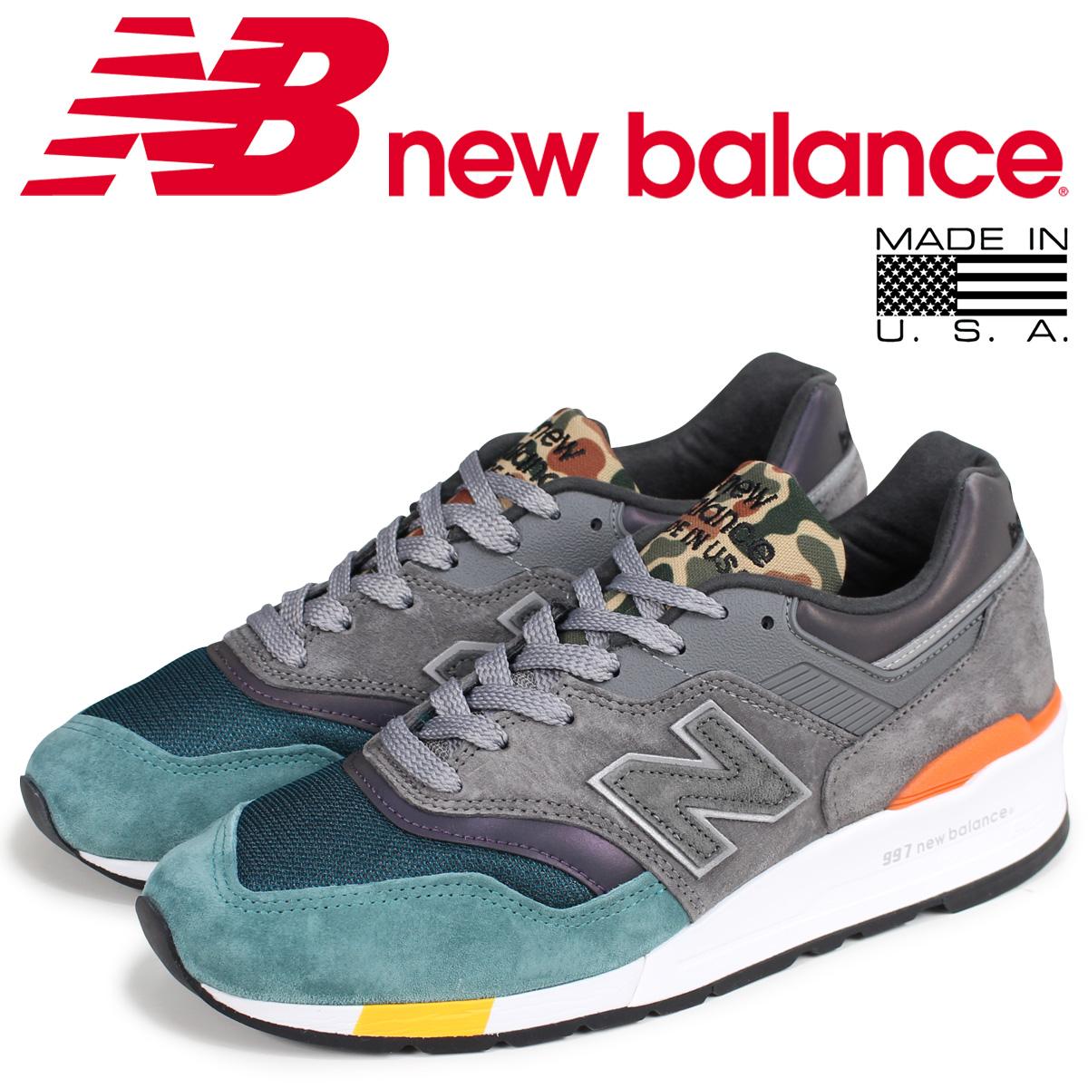 new balance 997 メンズ ニューバランス スニーカー M997NM Dワイズ MADE IN USA グレー