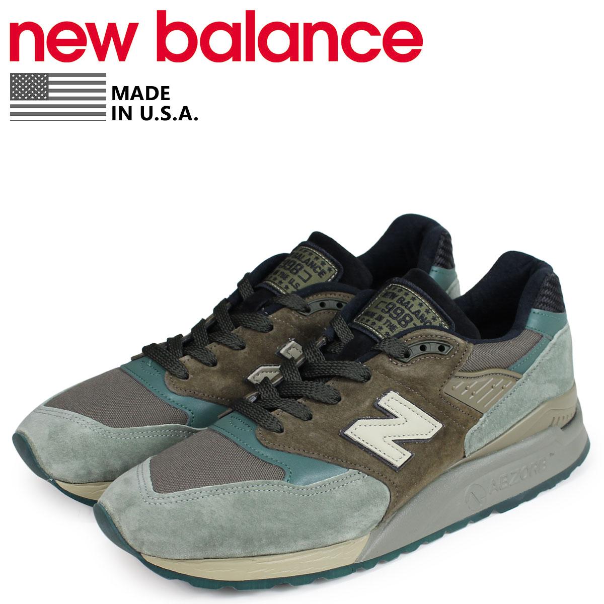 new balance ニューバランス 998 スニーカー メンズ Dワイズ MADE IN USA ブラウン M998AWA [3/11 追加入荷]