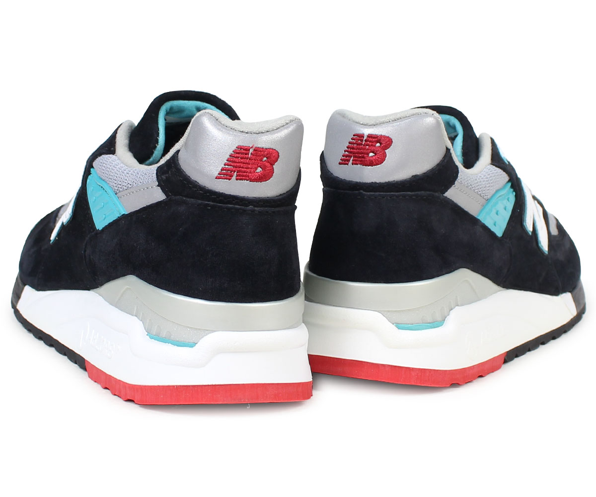 detailed look eb72a f692d new balance 998 men's New Balance sneakers M998CBB D Wise MADE IN USA shoes  black black