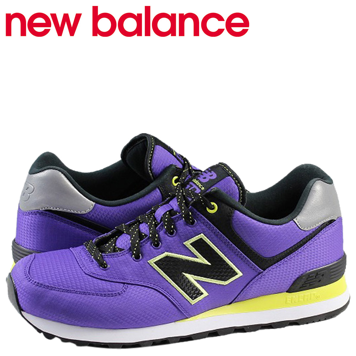 new balance 574 violet