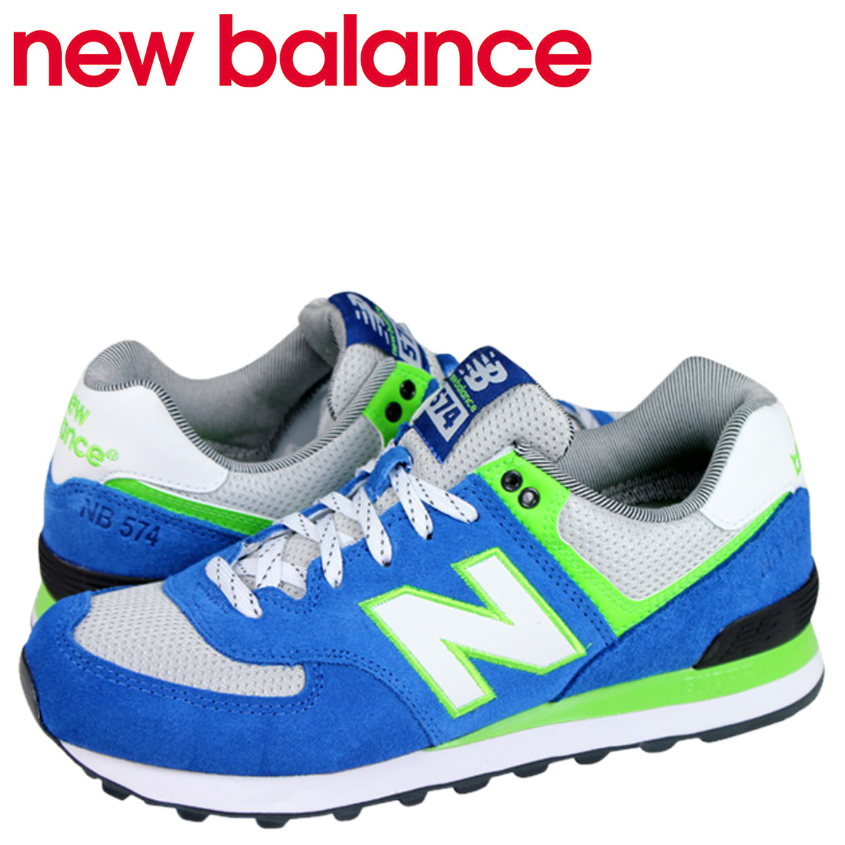 new balance 574 men blue