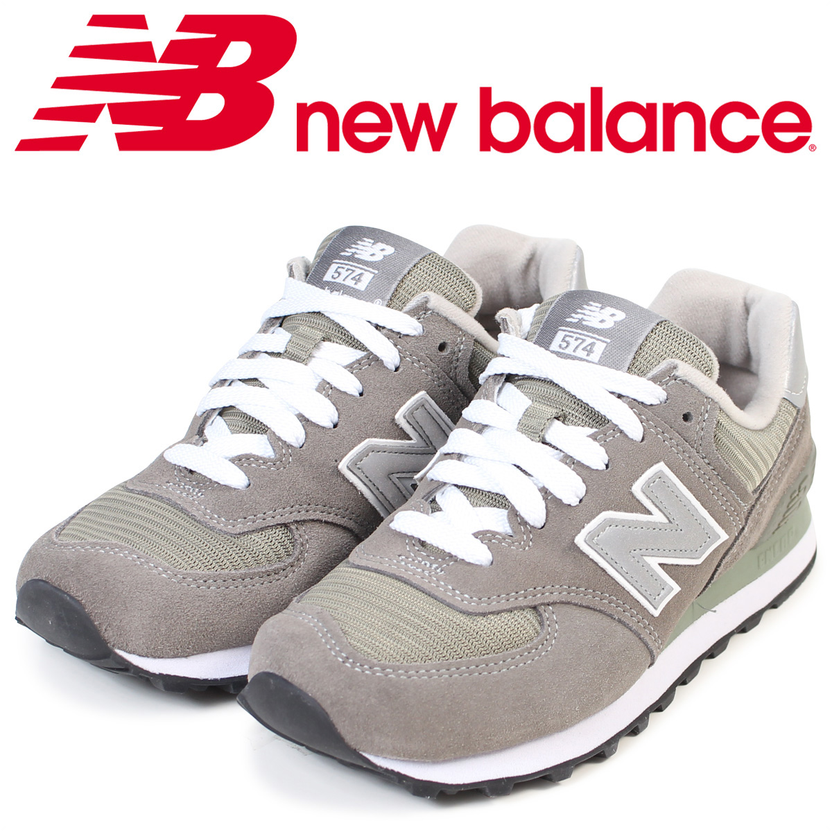 timeless design 3054d 1c1a3 new balance New Balance 574 Lady's sneakers W574GS B Wise D Wise men shoes  gray