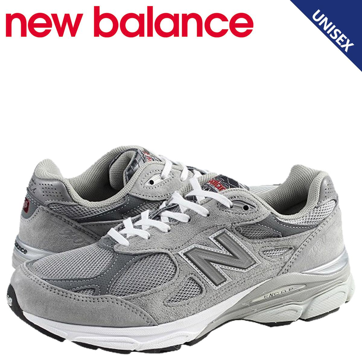 女子的男子的新平衡new balance W990GL3 Made in USA运动鞋B怀斯反毛皮革×メッシュスウェード