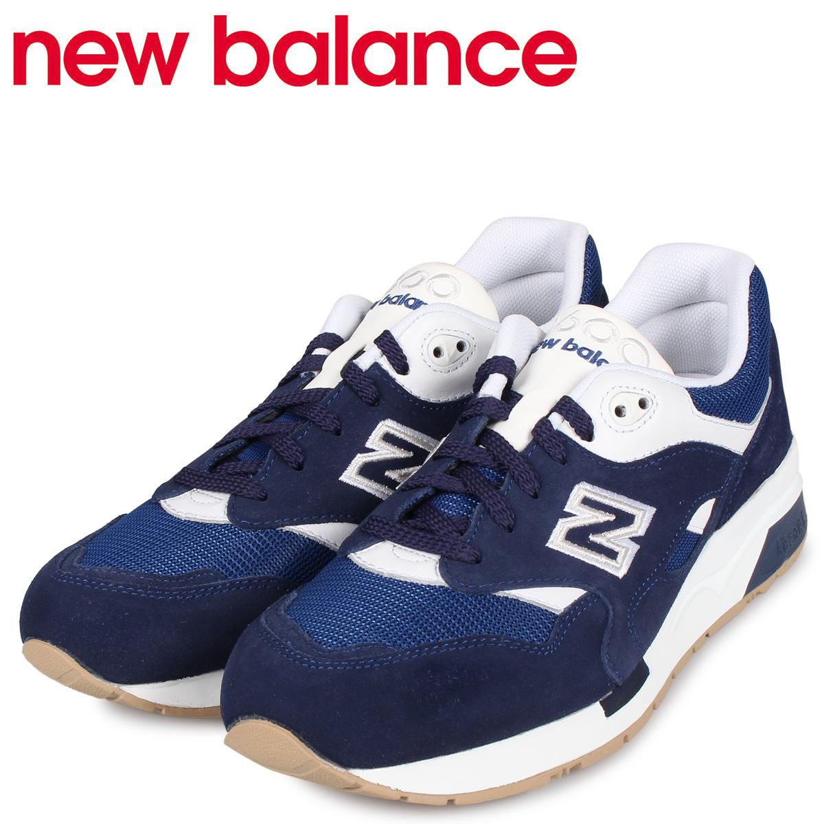 new balance ニューバランス 1600 スニーカー メンズ Dワイズ ブルー CM1600FG