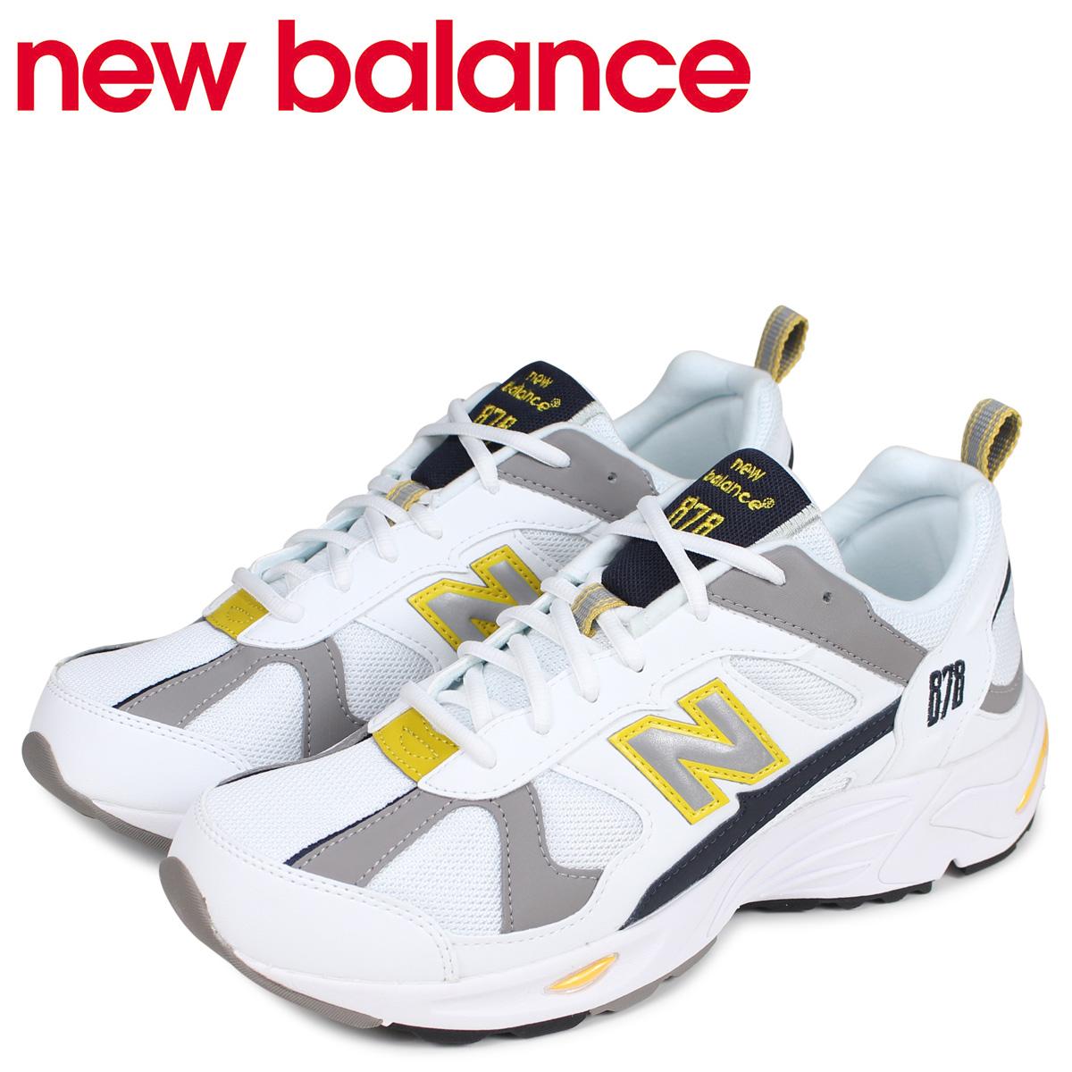 new balance ニューバランス スニーカー メンズ Dワイズ ホワイト 白 CM878TCA